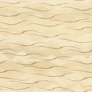 Sand seamless pattern Stock Illustration