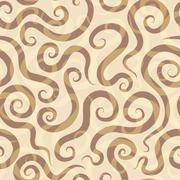 Spirals sand seamless pattern Stock Illustration