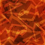Tribal warm color grunge texture with grunge effect Stock Illustration
