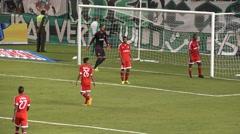 Soccer Goalie, Player, Futbol, Sports - stock footage