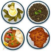 Indian food Piirros