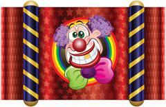 Stock Illustration of Template Clown