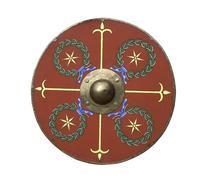 Roman legionary shield - stock photo