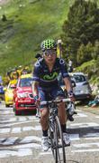 The Cyclist Nairo Alexander Quintana Rojas - stock photo