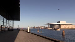 The Royal Playhouse and the Royal Opera House - stock footage