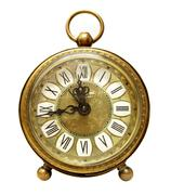 Antique clock - stock photo