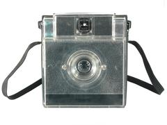 Antique automatic camera - stock photo