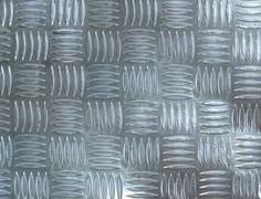 Aluminum anti-slip sheet Stock Photos