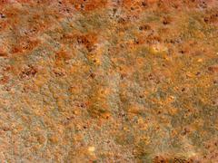 Rusty iron bar 01 - stock photo