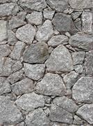 Stone wall 03 - stock photo