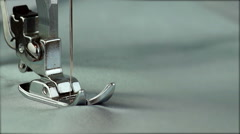 Foot Sewing Machine Stock Footage