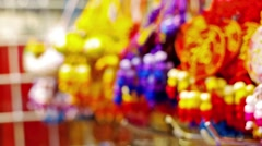 Chinese new year in hong kong Stock Footage