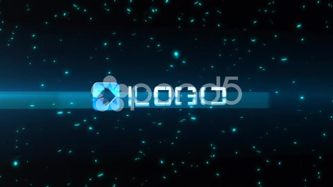After Effects Project - Pond5 Light Streak Particle Blast Logo Reveal Anima ...