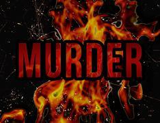 Murder Concept Grunge Styl Background Piirros