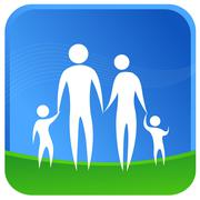 Family unity Stock Illustration