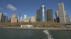East Coast Memorial in the afternoon, New York City Stock Footage