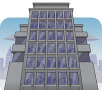 Corporate building Piirros