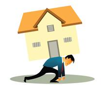 Home loan Stock Illustration