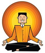 business mantra - stock illustration