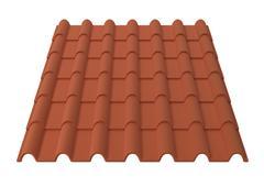 Stock Illustration of Roof tiles