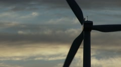 Wild Horse Turbine Wind Farm | EX3B0026 Stock Footage