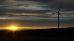 Wild Horse Turbine Wind Farm | EX3B0031 Stock Footage