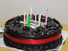 Choco cake - stock photo