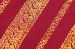 Silk Saree - stock photo