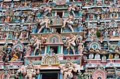 Chidambaram Temple - stock photo