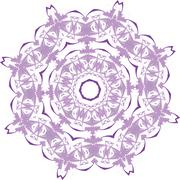 Stock Illustration of Abstract floral vector ornament