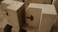 Refractory materials Stock Footage