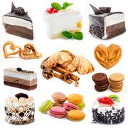 Various sweets Stock Photos