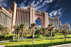 Atlantis Hotel in Dubai Stock Photos