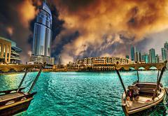 Address Hotel in Dubai Stock Photos