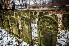 Jewish Cemetery Stock Photos