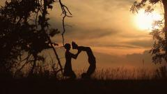 Love story Stock Footage
