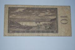 Czechoslovakia 1960 - 10 koruna - stock photo
