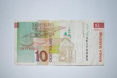 Slovenia - 10 Toliarov Stock Photos
