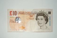 GB - 100 Pounds - stock photo