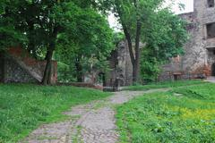 Poland - Zabkowice Slaskie - Castle ruine - stock photo