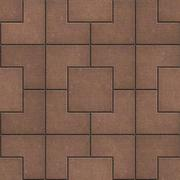 Pavement of Squares in Brown Colors Stock Illustration