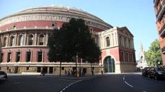 The Royal Albert Hall, London, United Kingdom 1 Stock Footage