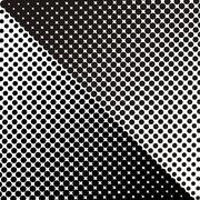 Black halftone texture - stock illustration