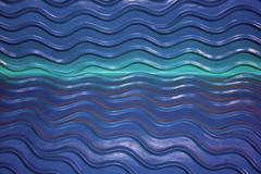 Background with painted blue waves, magical blue water surface Piirros
