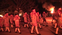 Williamsburg Fife and Drum 2 Stock Footage