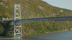 Bear Mountain Bridge Stock Footage