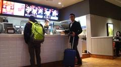 KFC restaurant, in Shenzhen, China Stock Footage