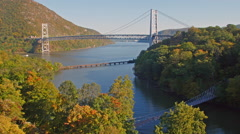Bear Mountain Hudson Valley New York - stock footage