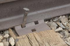 Loose Railroad Spike Stock Photos