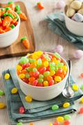 Sweet Sugary Easter Candy Stock Photos